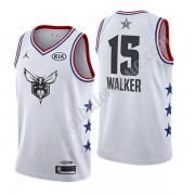 Camisetas NBA Baratas Charlotte Hornets 2019 Kemba Walker 15# Blanco All Star Game Swingman..